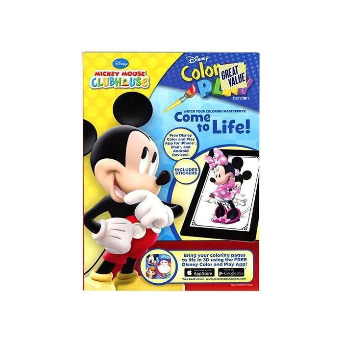 Mickey Coloring Book Maison Handal